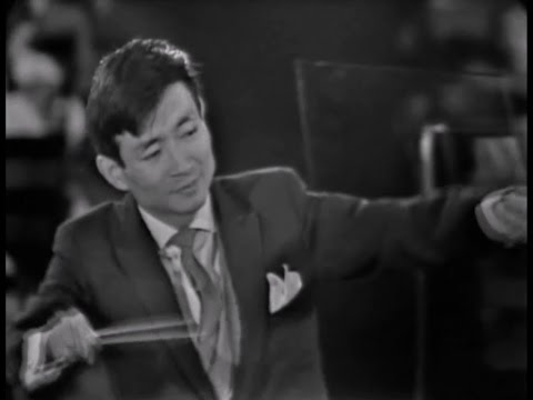 Young Performers: Seiji Ozawa 小澤 征爾 / Ozawa · Bernstein レナード・バーンスタイン · New York Philharmonic