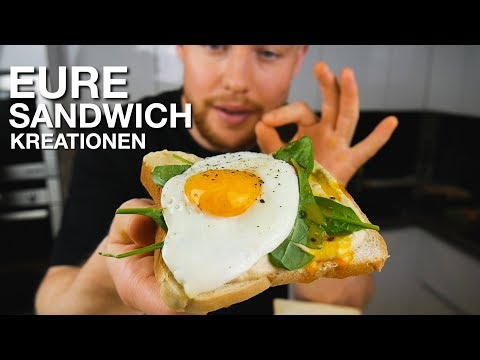 Lukas Probiert Eure Top 5 Sandwich Kreationen