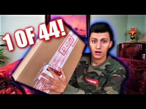 ONLY 44 MADE! I GOT THEM EARLY! SUPER LIMITED SNEAKER UNBOXING!