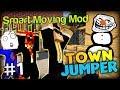 THE FROZEN PRESTON SONG - Minecraft Smart Moving Mod Town Jumper Part 1 w/ Preston and Vikkstar