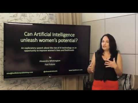 Alexandra Whittington talk on raise of AI technology as an ...