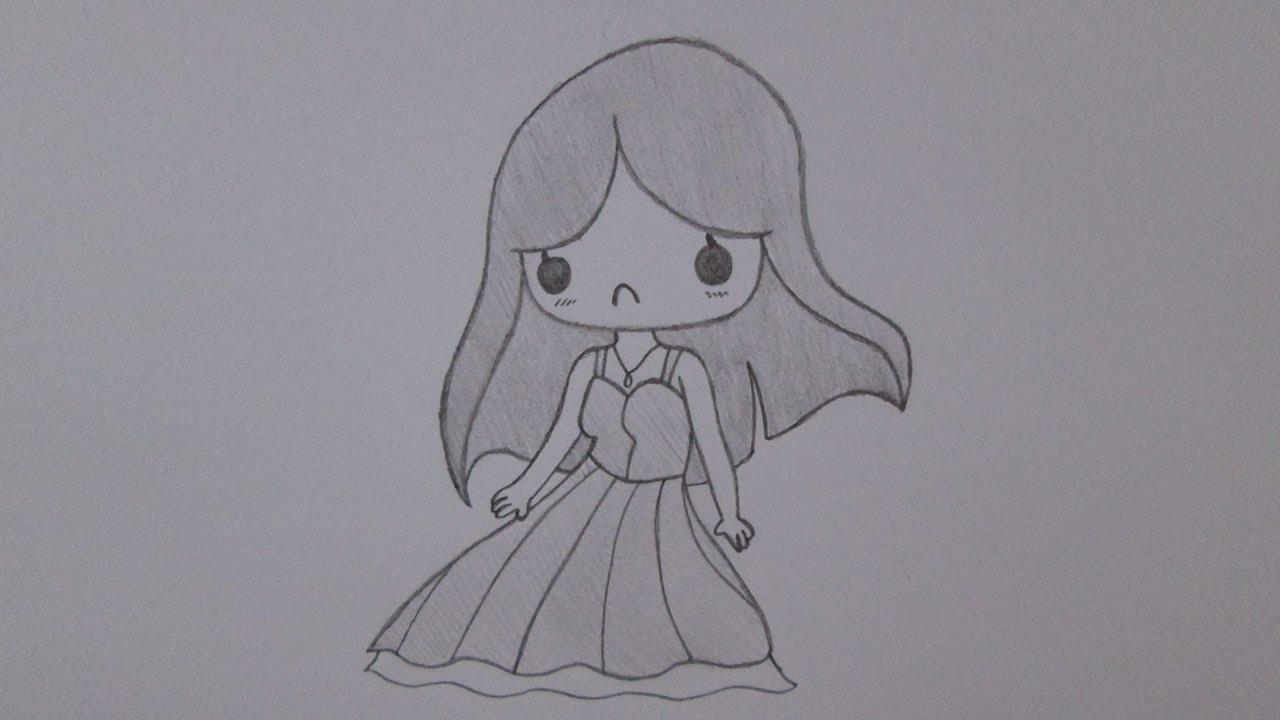 Como Desenhar Uma Garota Gótica