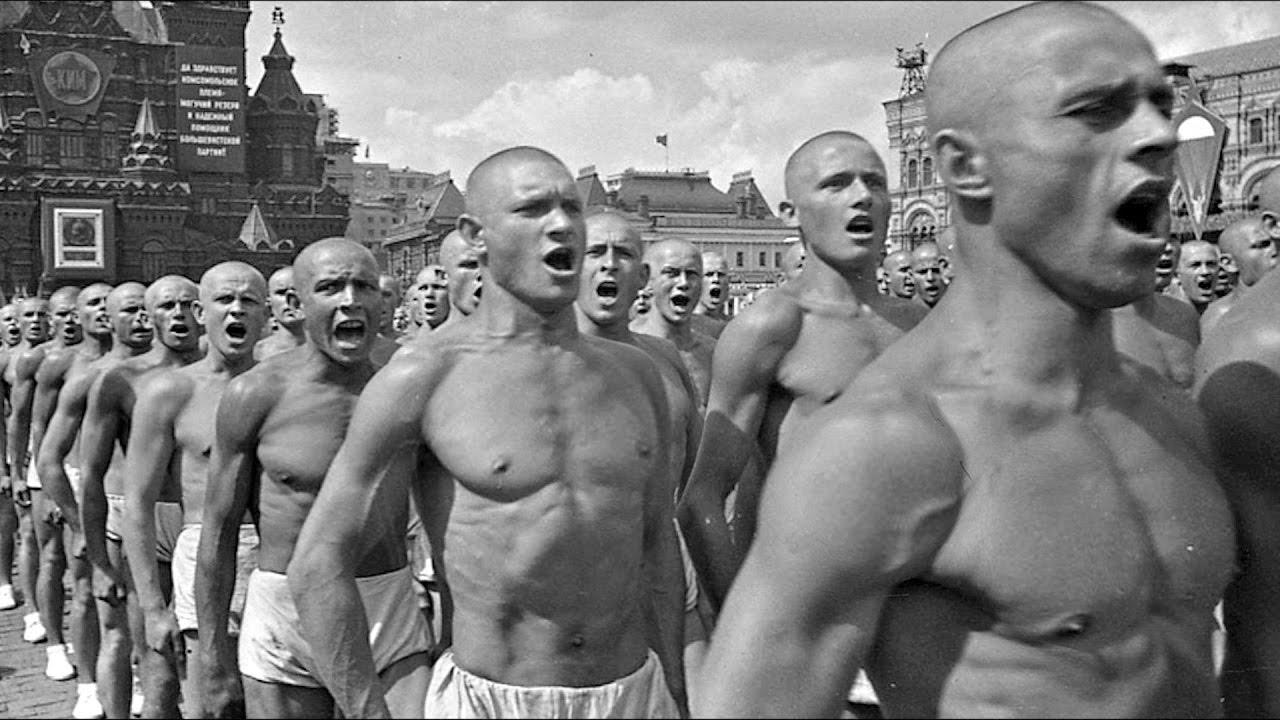 Спортсмены 1941 - 1945