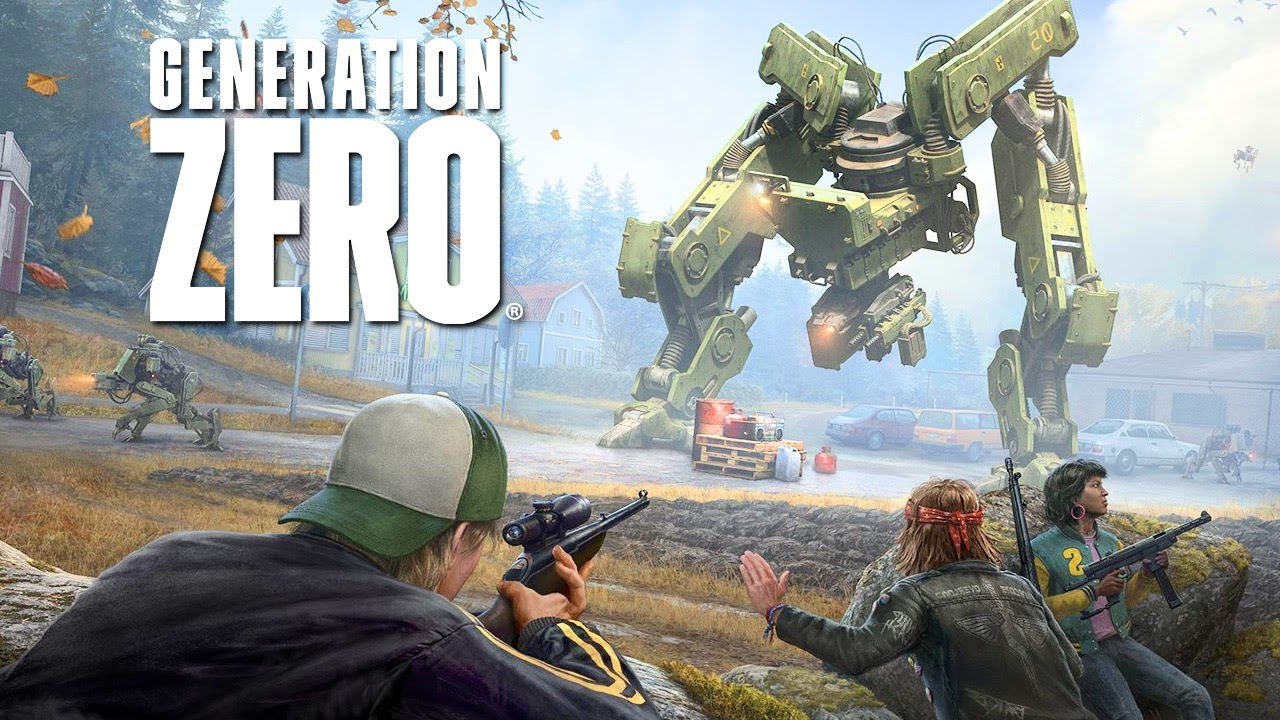 Generation Zero Official Gameplay Launch Trailer Youtube