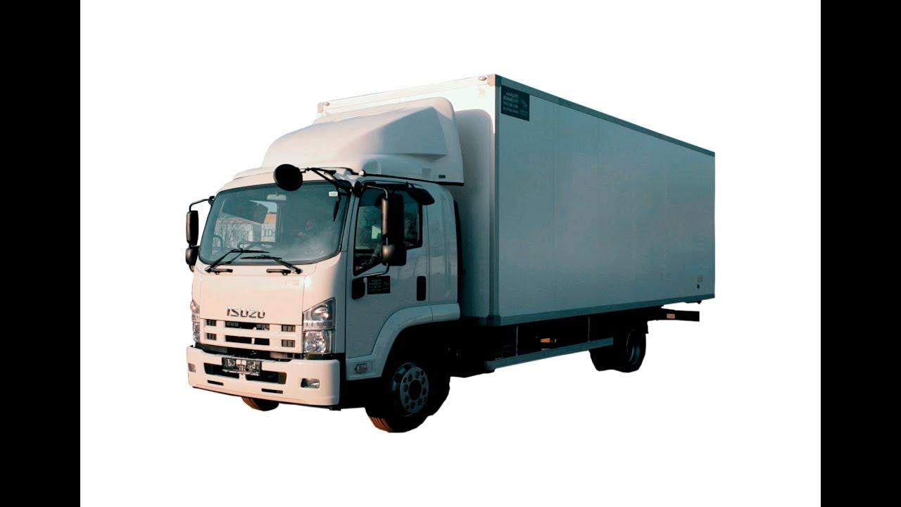 Isuzu FSR 90 Промтоварный фургон 49м3, 18 европаллет
