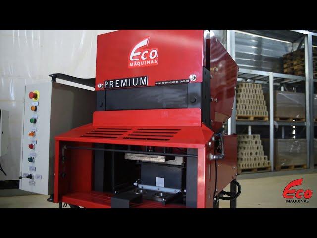ECO 7 Premium 2.1 Dupla Ação - Prensa Tijolos Ecológicos