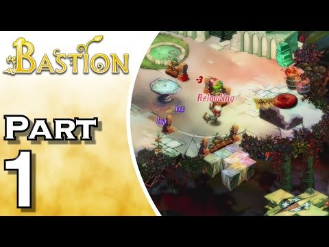Let's Play Bastion IOS (Gameplay + Walkthrough) Part 1 - Wrath Of The Kid