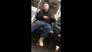 Racist Pervert to Girls on Subway: Kill Yourself Your Pussies Smell Like Sewage For Being White #GDL