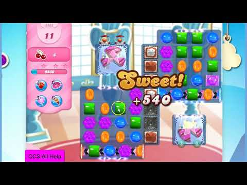 Candy Crush Saga Level 2983 16 moves NO BOOSTERS Cookie