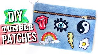 DIY PATCHES Using Things You ALREADY Have! | JENerationDIY