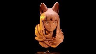 Ni no Kuni II: Revenant Kingdom - King Evan Sculpture by Sculpture_Geek | PS4, PC