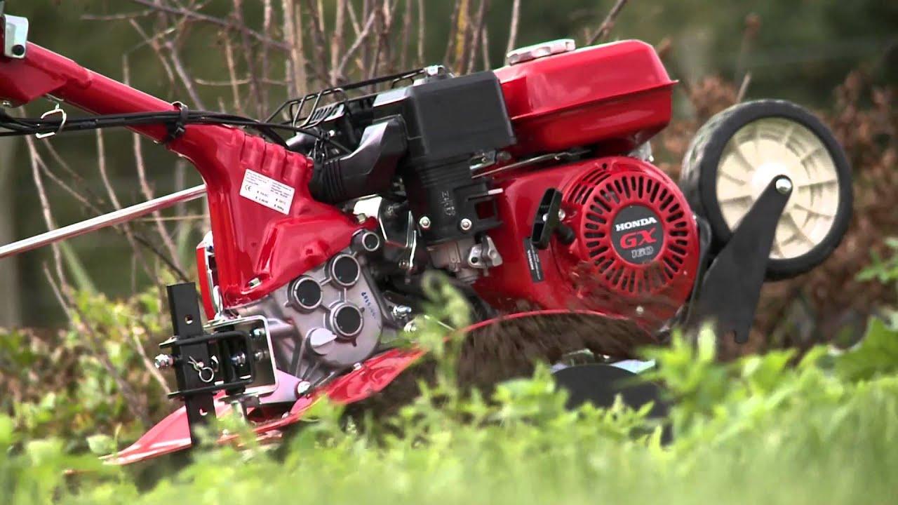 honda motoculteurs fj500 - youtube