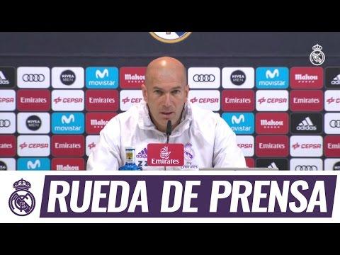 Zidane en la rueda de prensa previa a nuestra visita a Villarreal