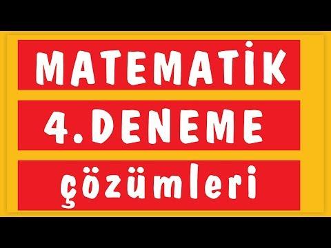 Tyt 10'lu Deneme - 4 çözüm (emrah Hoca) Şenol Hoca Matematik