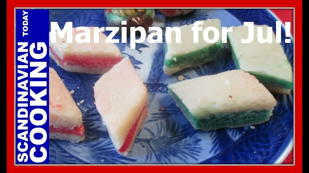 How To Make Marzipan Candy for Jul - An Old Fashion & Easy Christmas ...