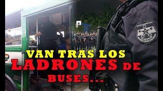 SE LES ACABO LA FIESTA a los ladrones en los buses
