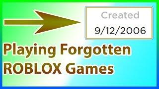 Spielen old Forgotten ROBLOX Spiele....