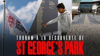 Thuram à la découverte de St George's Park