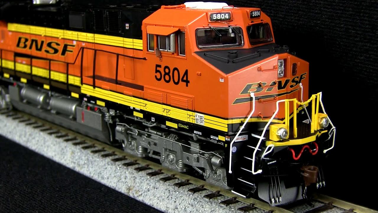 Ho Scale Es44ac Bnsf Gevo Athearn Genesis Product Review  Tsg Multimedia  03:17 HD