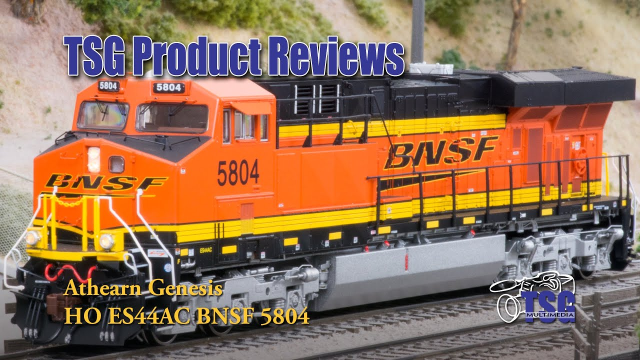 HO Scale ES44AC BNSF GEVO Athearn Genesis Product Review