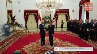 PM Najib meets Jokowi ahead of Malaysia-Indonesia bilateral meeting
