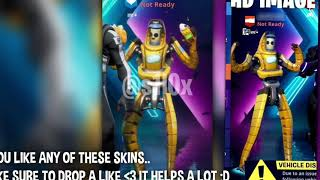 * FORTNITE Skins, Banana Robot and Skin S10 leaks! #Fortnite