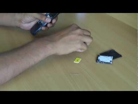 Assemble Samsung mobile SGH-J700
