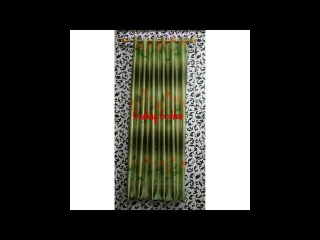 Gorden Minimalis Ceruty Hijau - Produk 0852 8765 1175 #gordenmurah #gudanggorden