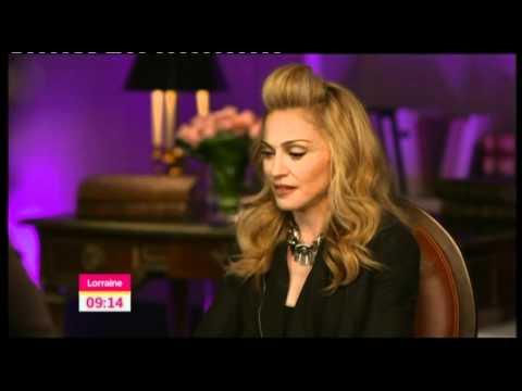 Exclusive Madonna Interview for MDNA album on Lorraine (HD)