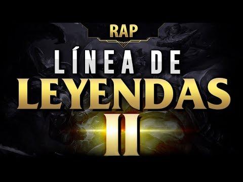 LINEA DE LEYENDAS 2 | RAP LOL | ZARCORT, BTH, SHARKNESS, KEYBLADE & JACKY