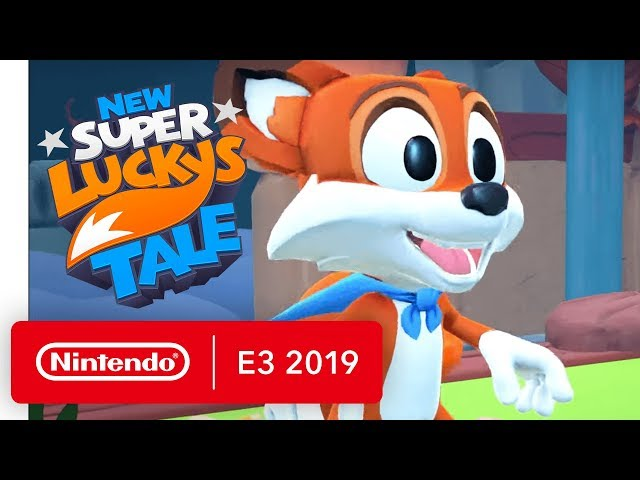 New Super Lucky's Tale - Nintendo Switch Trailer - Nintendo E3 2019