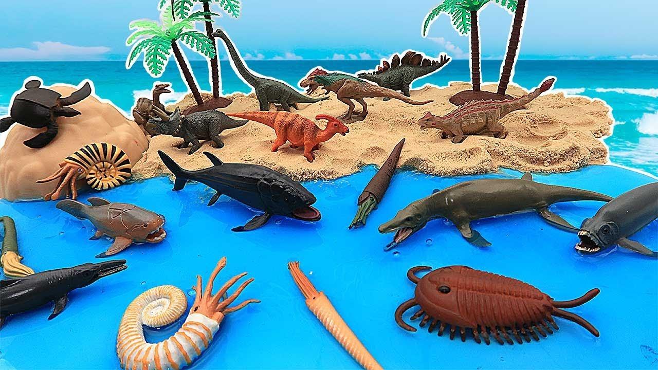 DIY DINOSAUR ISLAND Paleozoic Era Secret Dinosaur Names
