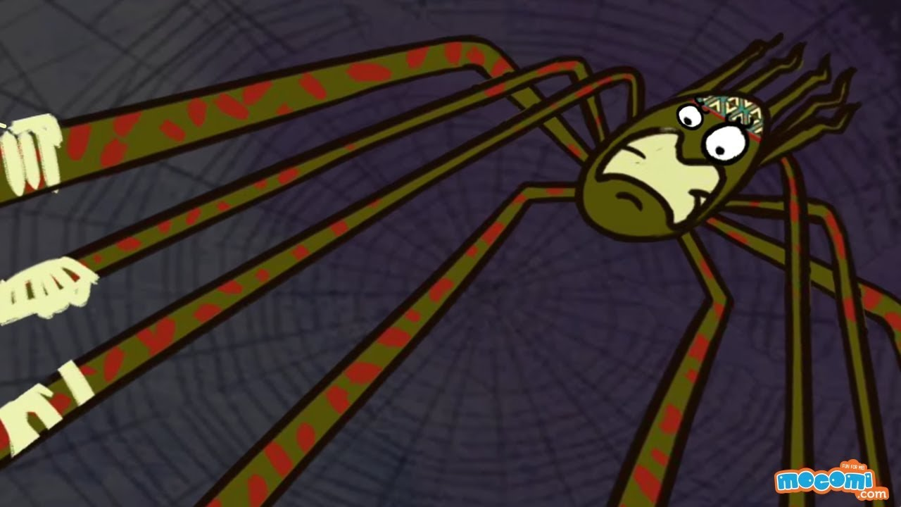 Why Anansi has eight thin legs