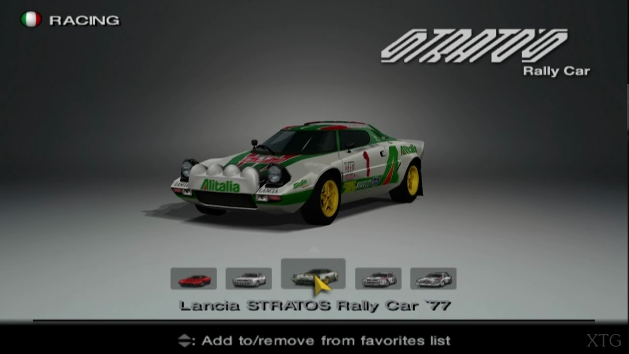 Gran Turismo 4 - Lancia Car List PS2 Gameplay HD - YouTube