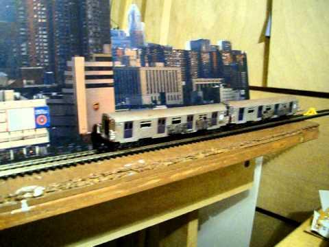 N Scale Subway Cars Youtube