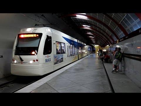 The deepest US station: Washington Park, MAX LRT, Portland, OR
