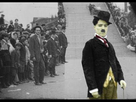"Charlie Chaplin Documentary: ""5 Minute History"", Feat. Kid Auto Races (1914)"