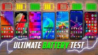 OnePlus 9 vs 9 Pro vs S21 Ultra vs iPhone 12 Pro Max vs Find X3 Pro-バッテリードレインテスト!
