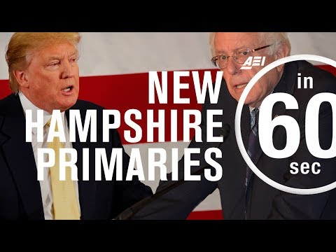 What New Hampshire means for the anti-establishment presidential candidates | IN 60 SECONDS