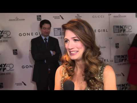 Gone Girl: Author Gillian Flynn New York Movie Premiere Interview