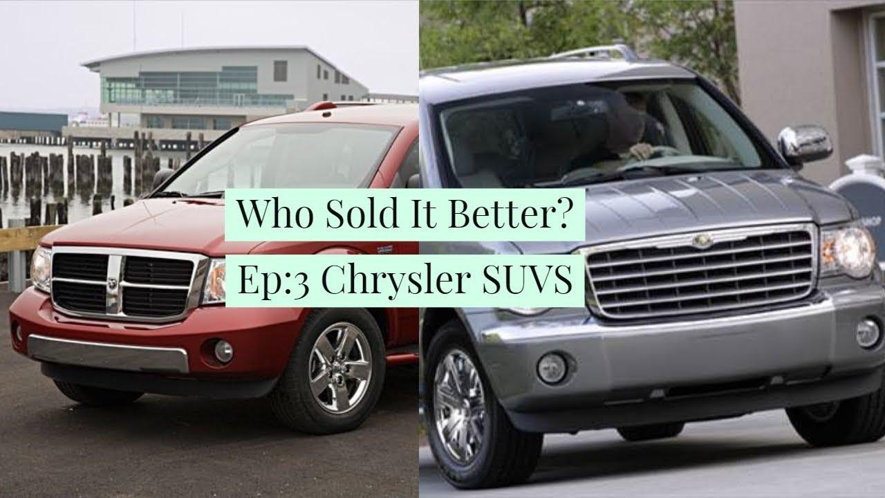 Who Sold It Better Ep3 Chrysler Aspen Vs Dodge Durango