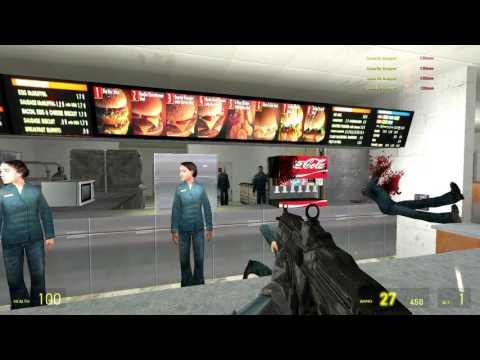 Resultado de imagen para GMod Massacre in McDonalds