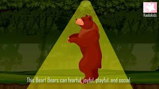 Forest Animals For Kids to Learn | Wild Animals Song With Pronunciation | 2d | 3d | Video