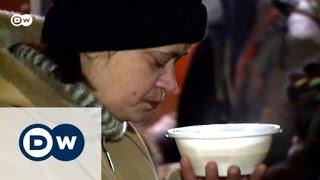 Obdachlos in Russland: Kampf dem Hunger!   DW Reporter
