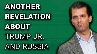 WHOA: Trump Jr Hinted at Changing Anti-Russia Law to Russian Lawyer