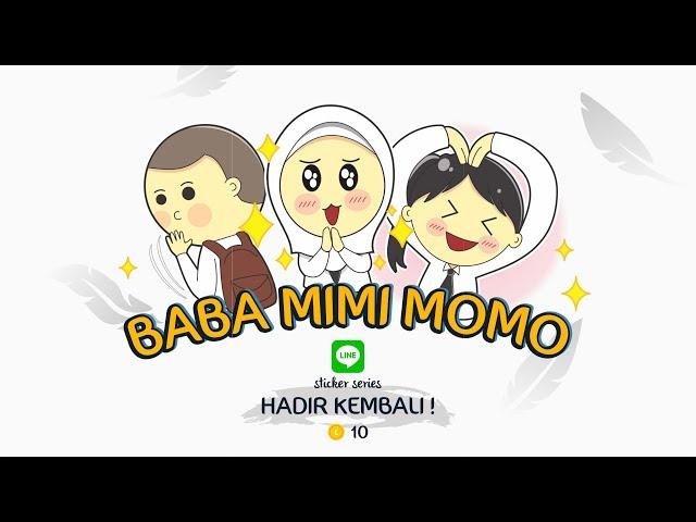 Official Line Sticker DINAMIKA PKN STAN 2018 - Baba, Mimi dan Momo Hadir Lagi!