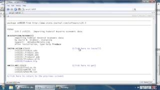 download and install user written commands in stata