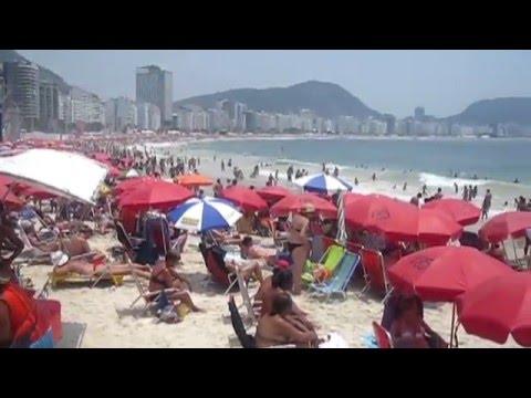 Rio de Janeiro - Brasil - Cristo Redentor, Pão de Açúcar, Praia de Copacabana