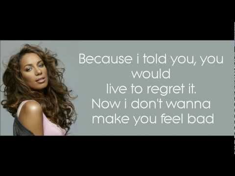 Leona Lewis - Best you never had LYRICS [HD]