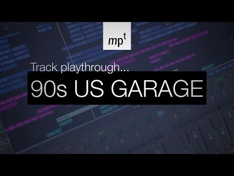 Logic Pro X - 90s US Garage - Track Playthrough